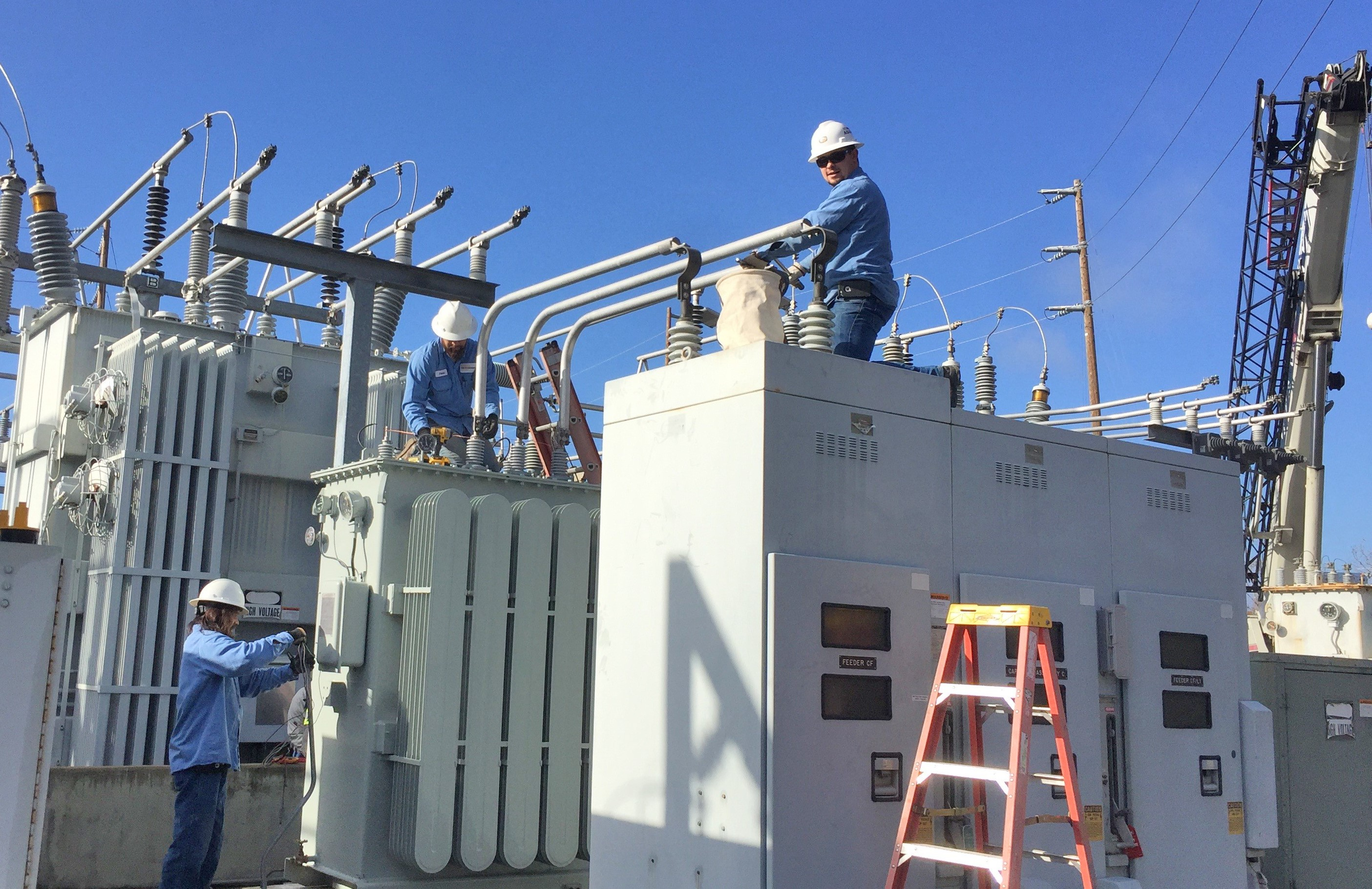 Facilities Power Substation