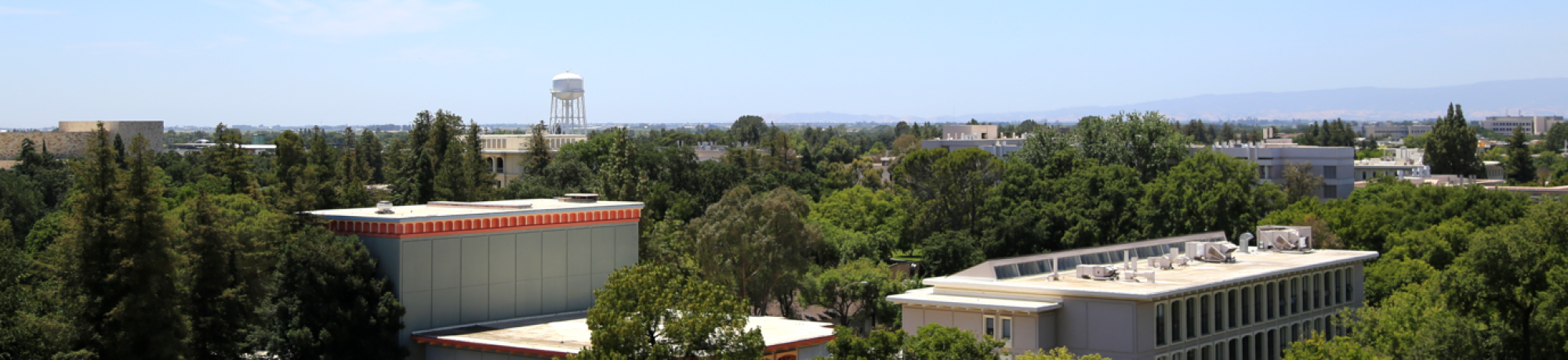 campus from rooftop